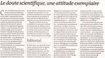 Éditorial du journal Le Monde du 24/25 septembre 2011 {JPEG}